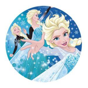 Elsa sukkerprint, Frost 2 fødselsdagskage, Frost kage, Frozen kage, nemme Frost kager, Nemme kager med Frost, Nemme kager med Frozen