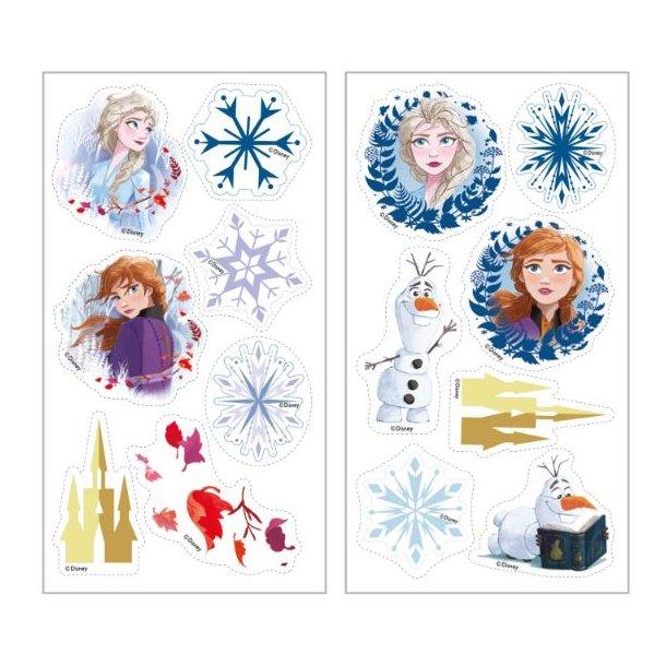 Spiselige sukkerprint til Frost kager, Frost muffins, Frozen muffins, Frost 2 sukkerprint, Spiselige billeder med Frost 2, Frost 2 spiselige billeder