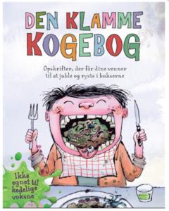 Den klamme kogebog, sjove kogebøger til børn, anderledes kogebøger til børn, opskrift bøger til børn, børn i køkkenet,
