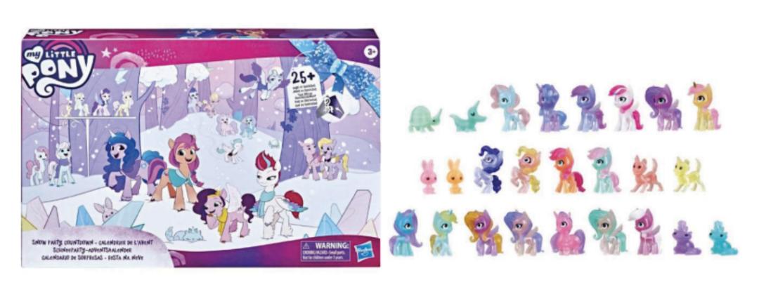 My little pony julekalender, julekalender med My little pony, heste julekalender, julekalender med heste, legetøjsjulekalender 2021