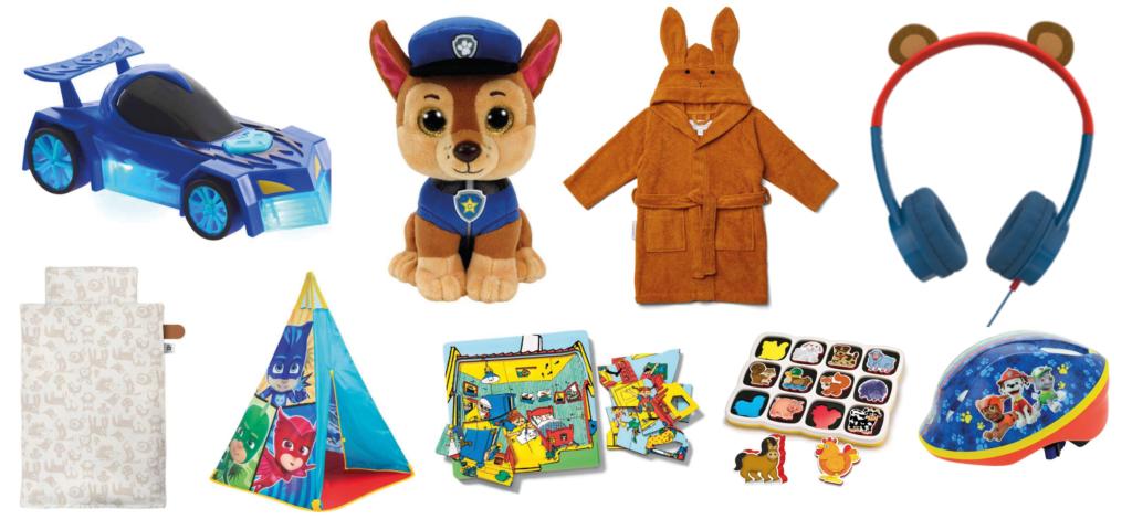 Gaver til 3 årige, gaver til 3-årige drenge, gaver til toddlers, gaver til små drenge, legetøjsbiler, puslespil til 3 årige, morgenkåber til 3-årige, legetelte til børn, økologisk sengetøj til børn, økologisk sengetøj til drenge