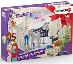 Schleich Julekalender Heste 2020, heste julekalender, julekalender med heste, julekalender med dyr, julekalender til piger