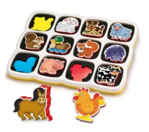 Magnetisk Puslespil, puslespil til børn, puslespil til 3 årig, gaver til 3 årige drenge