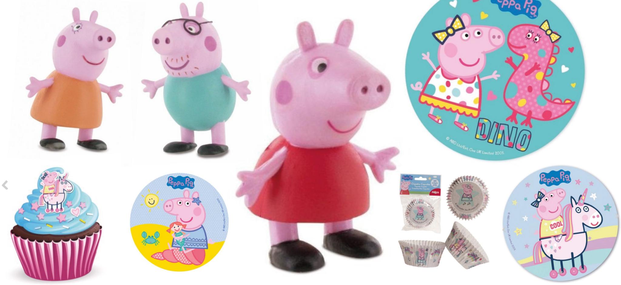 Gurli gris kage, Gurli Gris fødselsdag, fødselsdag med Gurli gris, Spiselig papir med Gurli gris, Sukker print med Gurli Gris,