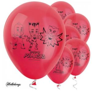 pyjamasheltene ballon, fødselsdags balloner, balloner til fødselsdag, PJ mask balloner, PJ mask ballon