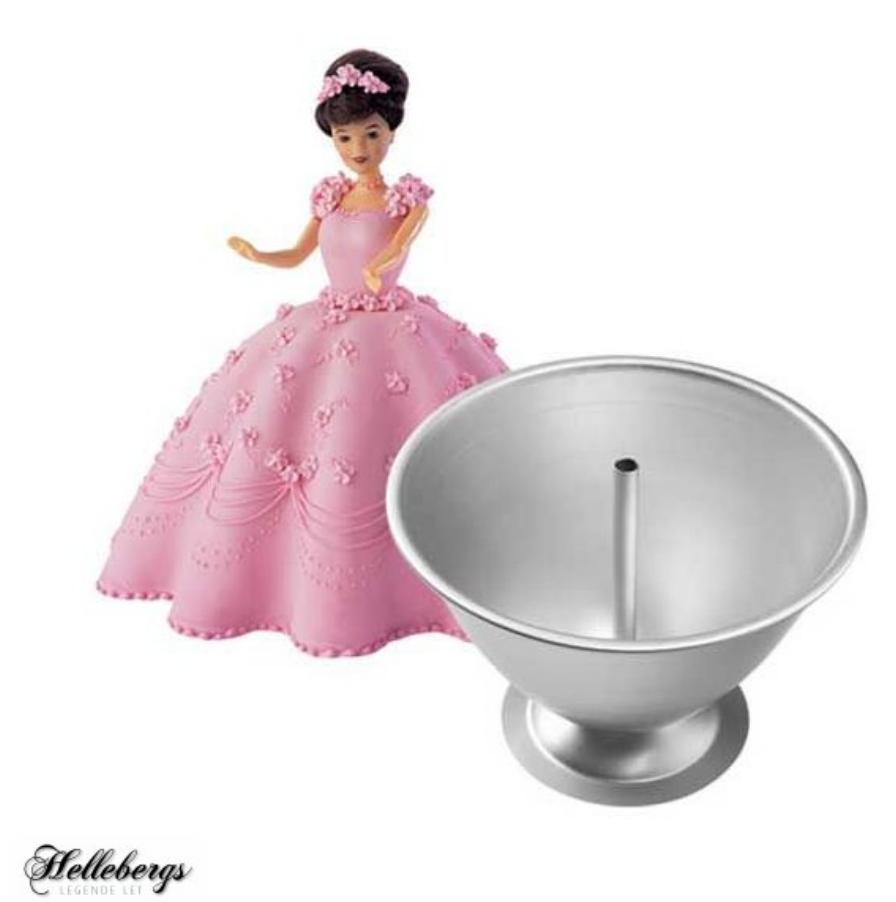 Barbie bagesæt, barbie kage sæt, Barbie fødselsdag, fødselsdag med Barbie, Barbie lagkage,