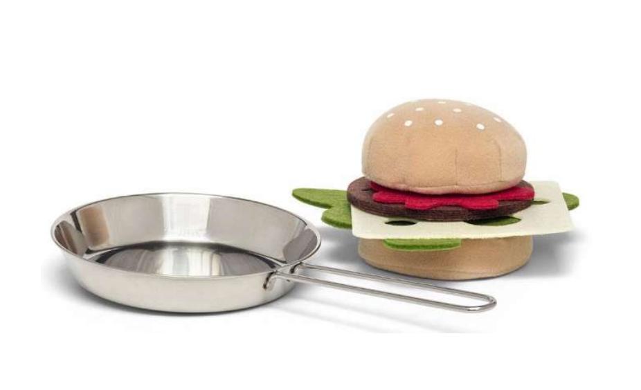legemad, legemad burger, legetøjs burger, legetøj til under 100 kr, gaver til børn under 100 kr.