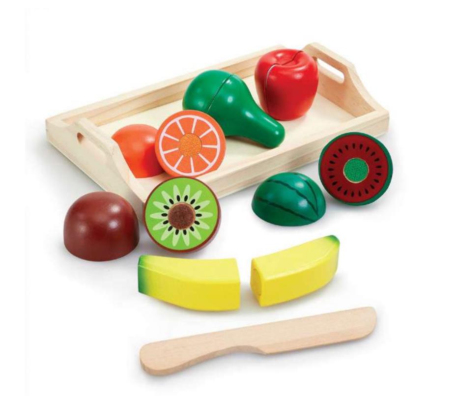 træ legetøj, legetøjs frugt, legetøjs grøntsager, legetøj til under 100 kr, gaver til børn under 100 kr.