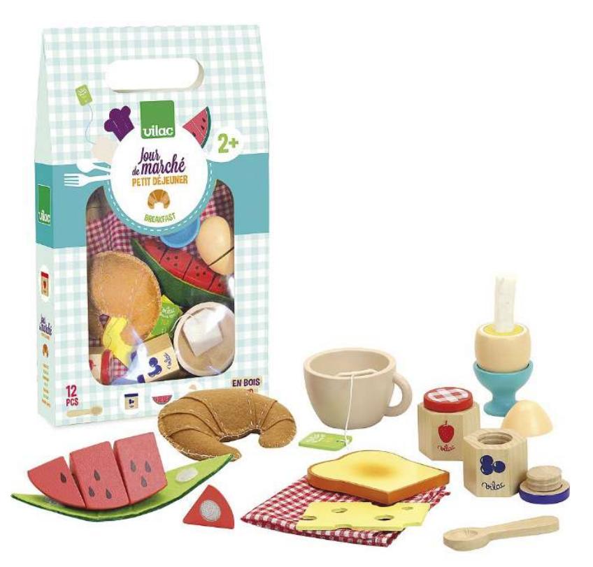 legemad morgenmad, blandet legemad, sæt med legemad, legemad til børn, legetøjsmad, morgenmad legetøj,
