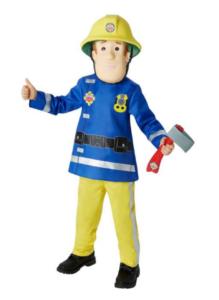 Brandmand sam, brandmand Sam, Sam brandmand, kostume Sam Brandmand, kostumer til drenge, populære kostumer til drenge, Brandmand Sam kostume