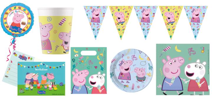 Gurli Gris fødselsdag, fødselsdag med Gurli Gris, Peppa Pig fødselsdag, Fødselsdag med Peppa Pig, Børnefødselsdag, Børnefødselsdag tema