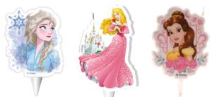 Disney Prinsesse kagelys, Prinsesse kagelys, kagelys med Disney prinsesser, Prinsesse fødselsdag, fødselsdag med prinsesse tema, Frost fødselsdag, Frost kagelys, Bella kagelys