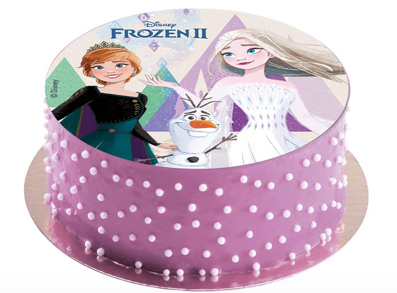 Frost kagepynt, kagepynt med Frost, Frozen kagepynt, kage med Frost, Frost fødselsdag, Frost fødselsdagskage