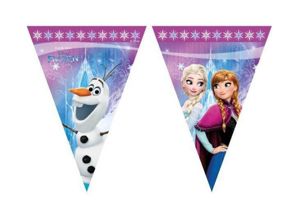 Frost banner, Frost festbanner, festbanner, børnefødselsdag, pige fødselsdag, fødselsdags tema, festpynt med Frost, Frozen festpynt, Frozen fødselsdag