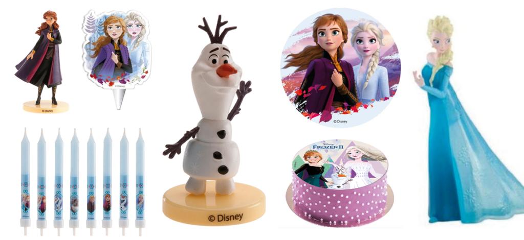 Frost kagepynt, kagepynt med Frost, Frost topfigur, Elsa kagepynt, Frozen kagepynt, Prinsesse kagepynt, kagepynt prinsesser,
