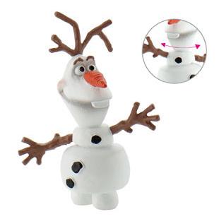 Frost topfigur, Frost kagepynt, Olaf kagepynt, Oluf topfigur, Olaf kage topfigur, kage topfigur Frost, Frost fødselsdagskage, tilbehør til Frost fødselsdagskage, kagetilbehør med Frost