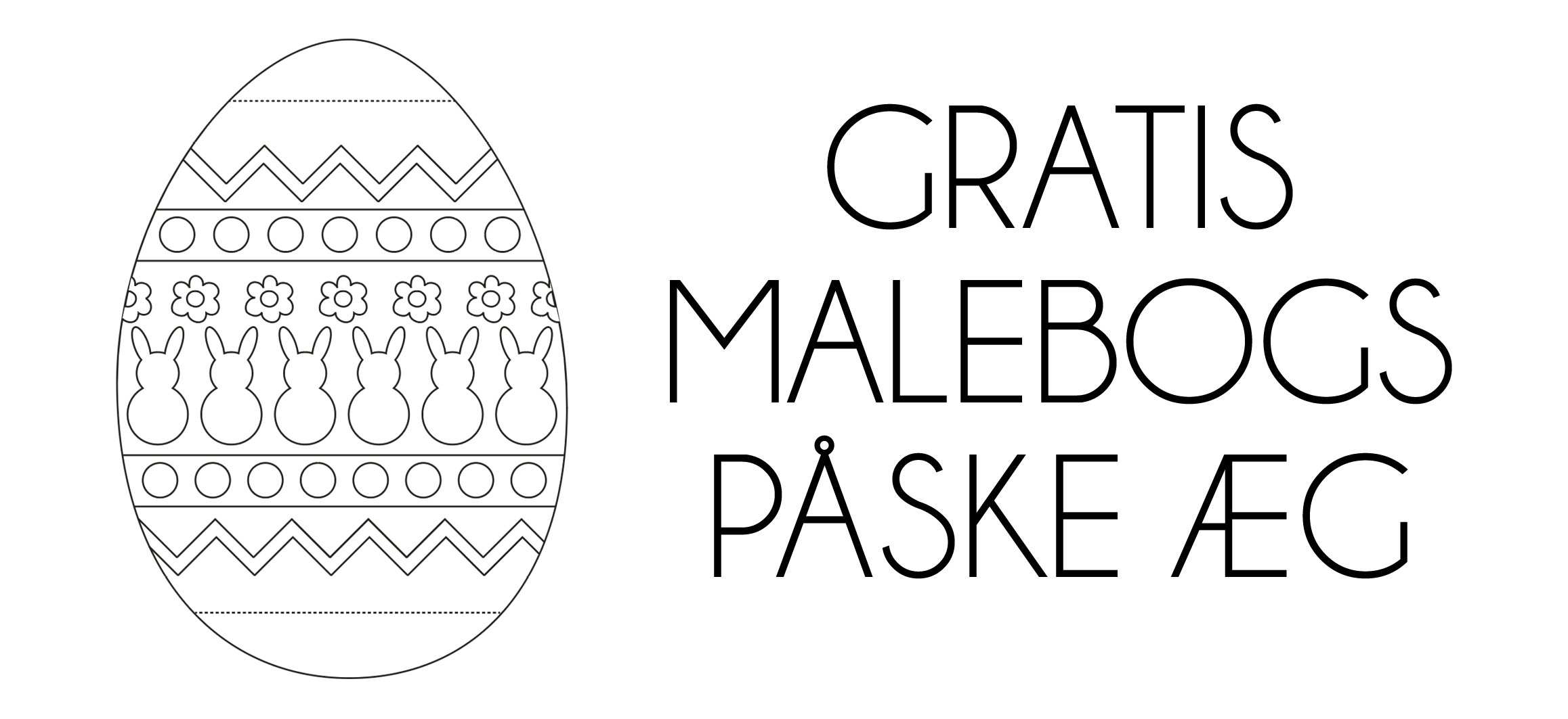 Mal selv påske æg, malebogs påskeæg, gratis påskeklip, DIY påskeklip, print selv malebogs sider, print selv påskeæg