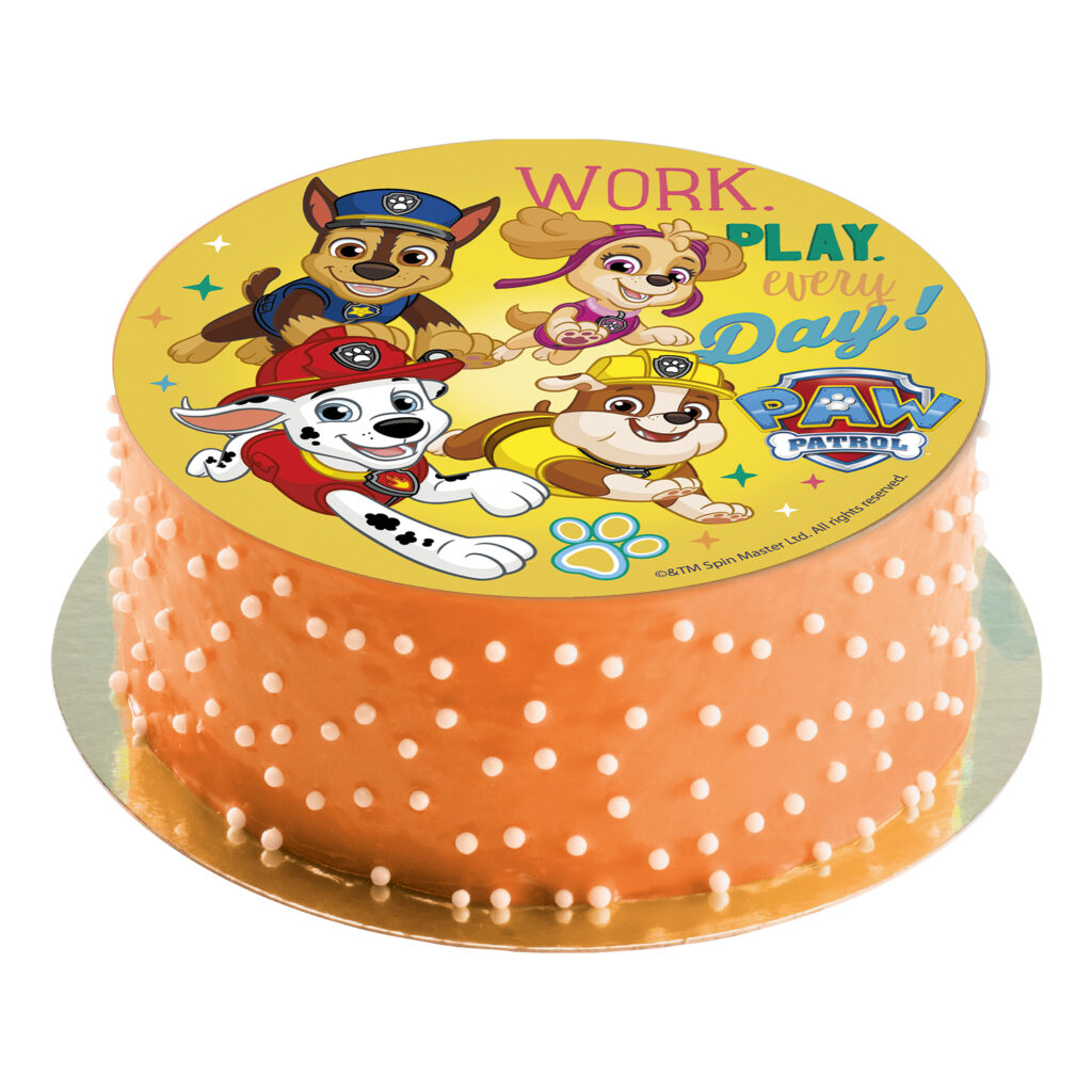 Nem Paw patrol kage, fødselsdag med Paw Patrol, kage med Paw Patrol, Patrol kage, Nem fødselsdagskage, Spiselig papir med Paw Patrol, fødelsdag med Paw Patrol print, spsielig kagepapir, fødselsdag Paw Patrol