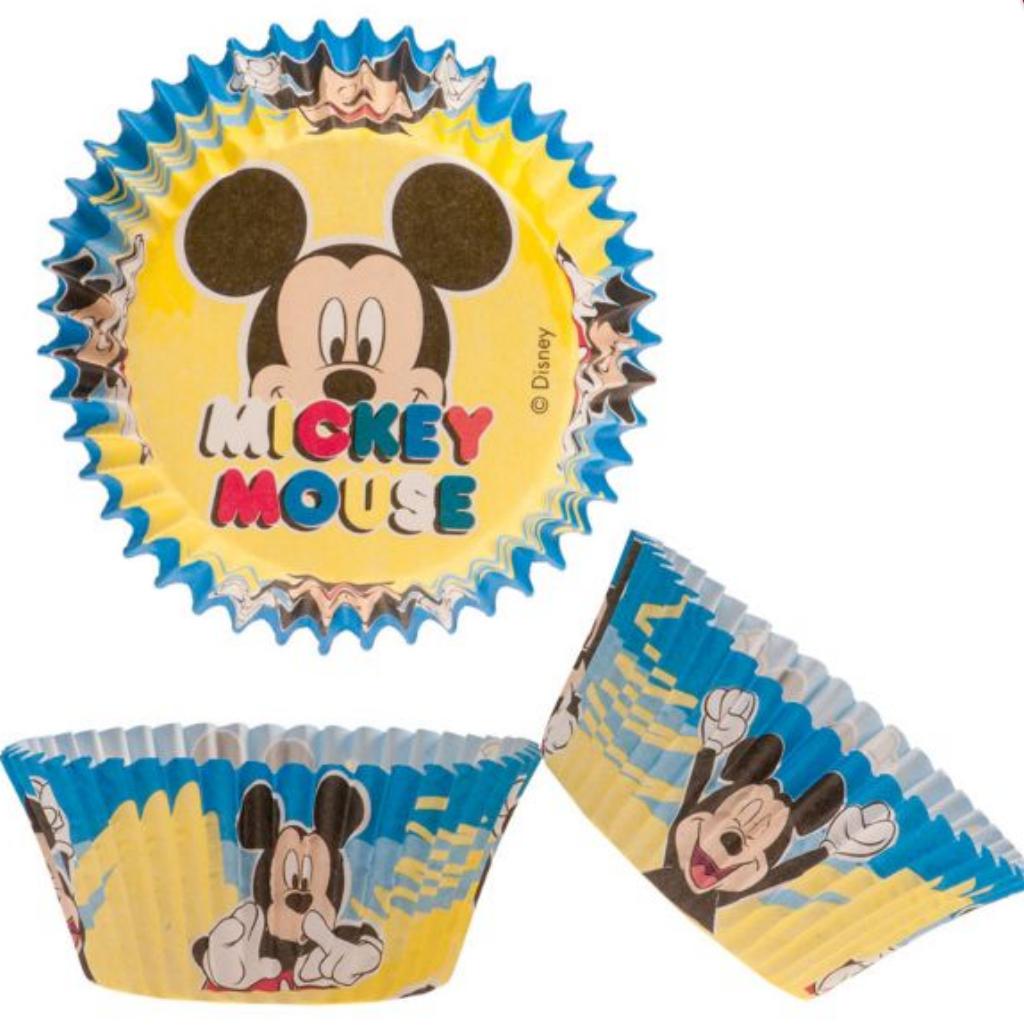 Mickey mouse muffinforme, muffinforme med Mickey mouse, muffinforme til børnefødselsdagen, muffinforme med børnemotiver