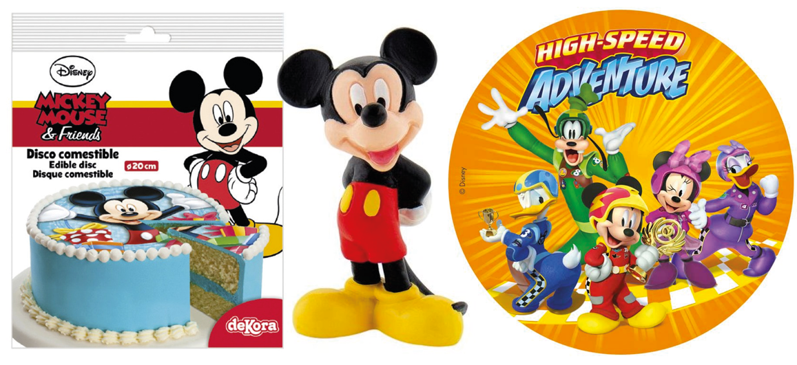 Mickey Mouse kage, Mickey house fødselsdagskage, Mickey mouse sukkerprint, Vaffelprint med Mickey Mouse, Disney kage, Disney fødselsdagskage