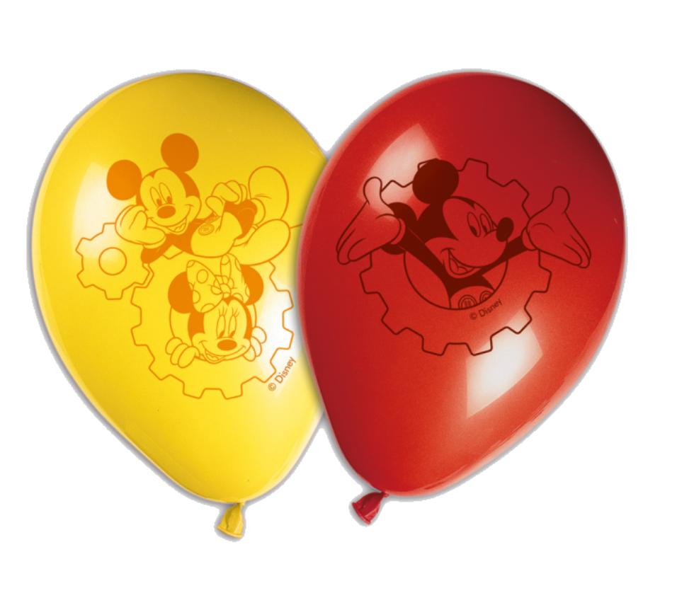 Balloner med Minnie mouse, Balloner med Mickey Mouse, Minnie Mouse fødselsdag, Mickey Mouse fødseldag, Fødselsdags balloner