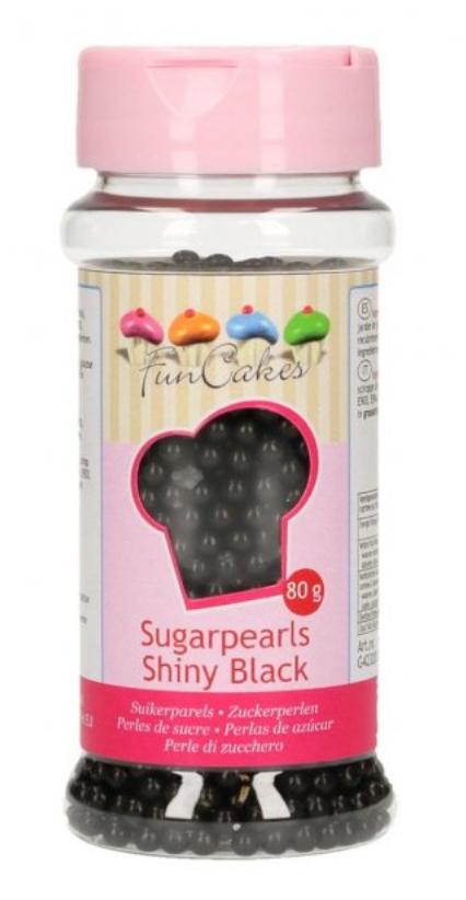 sukkerperler til kager, Sorte sukkerperler, sort krymmel, sorte perler krymmel, Mickey mouse kage,