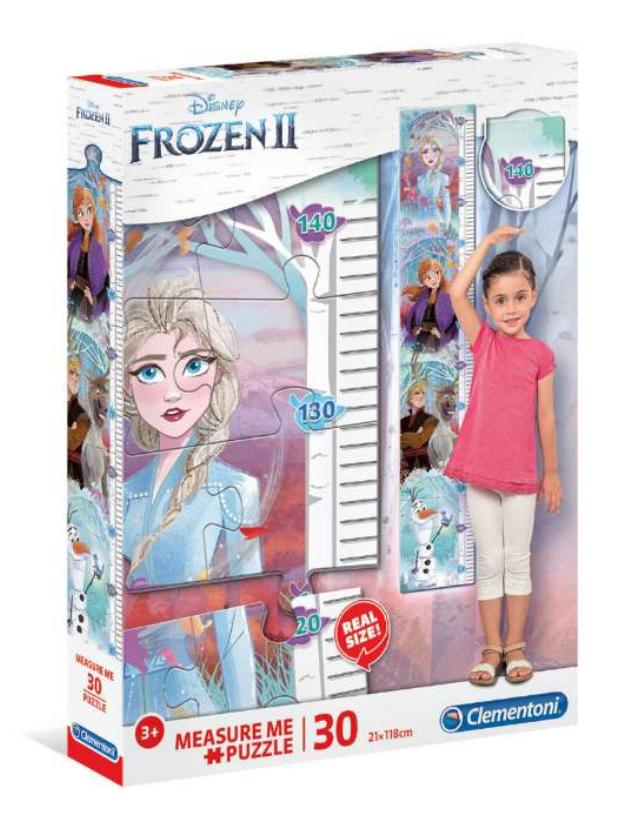 Frost Højdemåler Puslespil, Højdemåler til børn, Frost højdemåler, gaver med Frost, Gaver til 3-årige piger