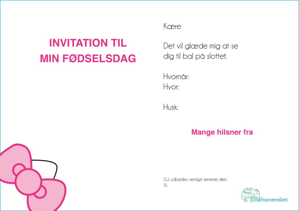 Hello Kitty fødselsdag invitation, Hello Kitty indbydelse, indbydelse til Hello Kitty fødselsdag, føselsdag med hello kitty, børnefødselsdag, gratis invitationer til børnefødselsdag, fødselsdags invitationer, pige fødselsdag, Fødselsdag med Hello Kitty