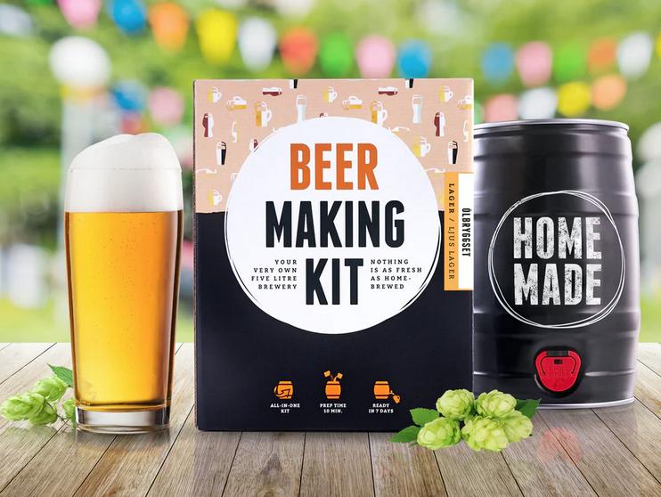 Bryg din egen ale, bryg din egen øl, far dags gave, gaver til Far´s dag