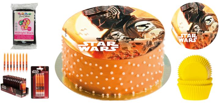 Nem Star wars kage, diy nem star wars kage, kage med Star wars, Star wars fødselsdag, drenge fødselsdag, temaet til drenge fødselsdage, fødselsdagstemaer,