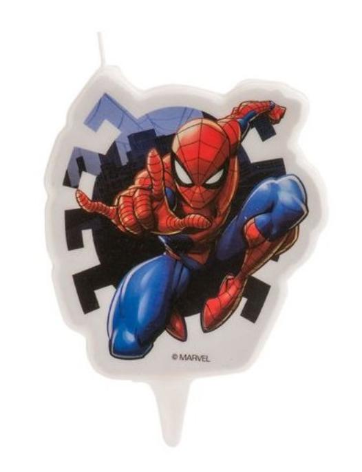 Spiderman kagelys, kagelys med Spiderman, spiderman fødselsdag, tema fest med spiderman