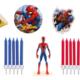 Spiderman topfigur, topfigur til spiderman kage, kage med spiderman figur, kagefigur med spiderman, spiderman børnefødselsdag, Spiderman kage, Spiderman kagetilbehør, kagetilbehør med spiderman, Sukkerprint med spiderman,