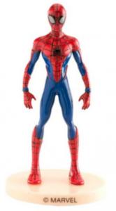 Spiderman topfigur, topfigur til spiderman kage, kage med spiderman figur, kagefigur med spiderman, spiderman børnefødselsdag,