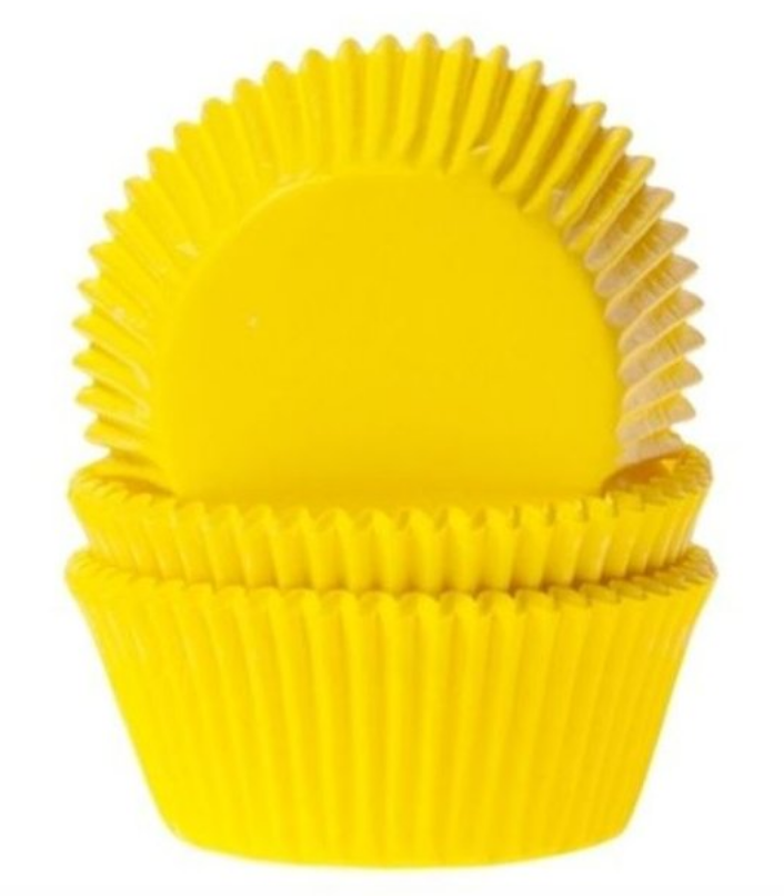 Gul muffinform, muffinforme i gul, muffins til børnefødselsdag, børnefødselsdag med tema,