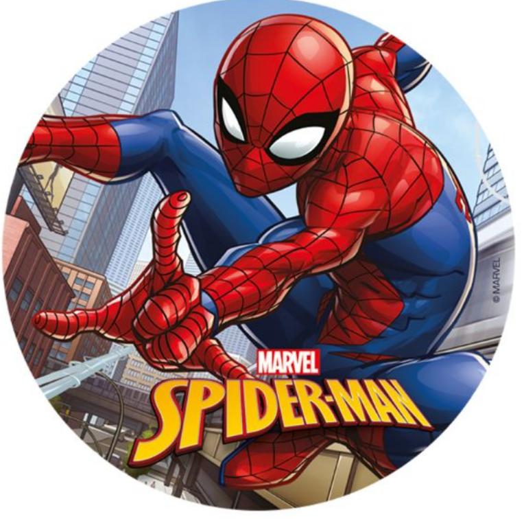 Nem spiderman kage, Spiderman fødselsdagskage, fødseldag med spiderman, drenge fødselsdag