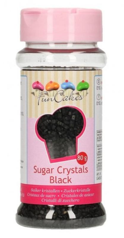 Sort krymmel, Sort sukker krymmel, krymmel med sort, sukker i sort,