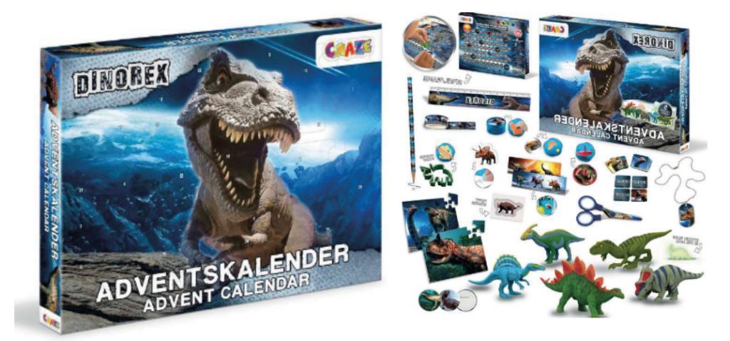 Dinosaur Dinorex julekalender 2021, julekalender med Dinosaur, legetøjsjulekalendere til drenge, 2021 julekalender, Dinosaur Dinorex adventskalender, adventskalender til drenge, adventskalender med dinosaur