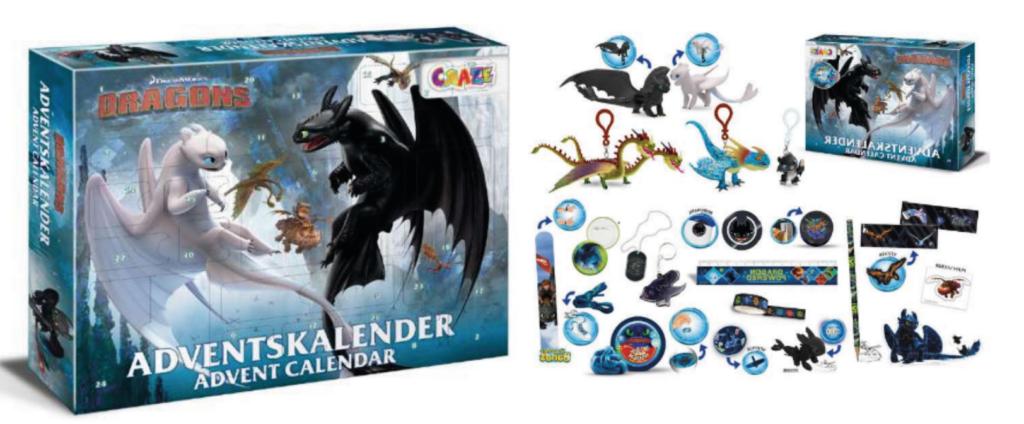 How To Train Your Dragon Julekalender, Drage julekalender,