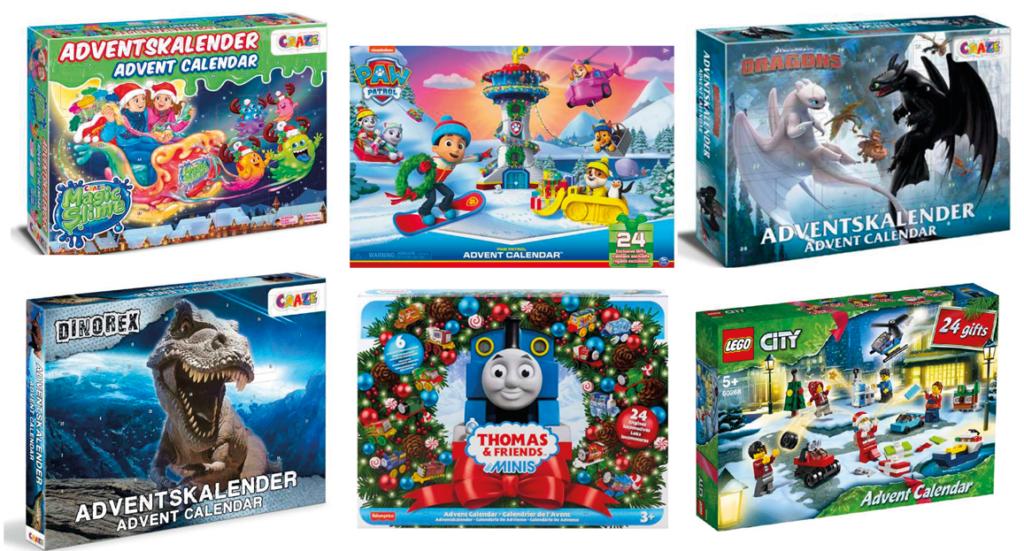 Julekalener til drenge, 2022, julekalender til drenge i år, julekalender med legetøj 2021, drnege julekalender, adventskalender til drenge, adventskalender 2021, julekalender med legetøj, julekalender med Lego, Julekalender med Thomas Tog, Julekalender med Paw Patrol, slime julekalender, drage julekalender, dinosaur julekalender
